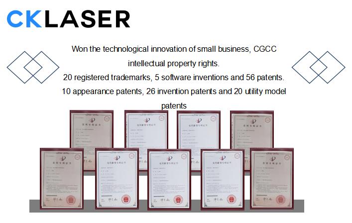CKLASER patent certificate